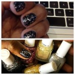 Feature Essie Midnight Cami and Set in Stones