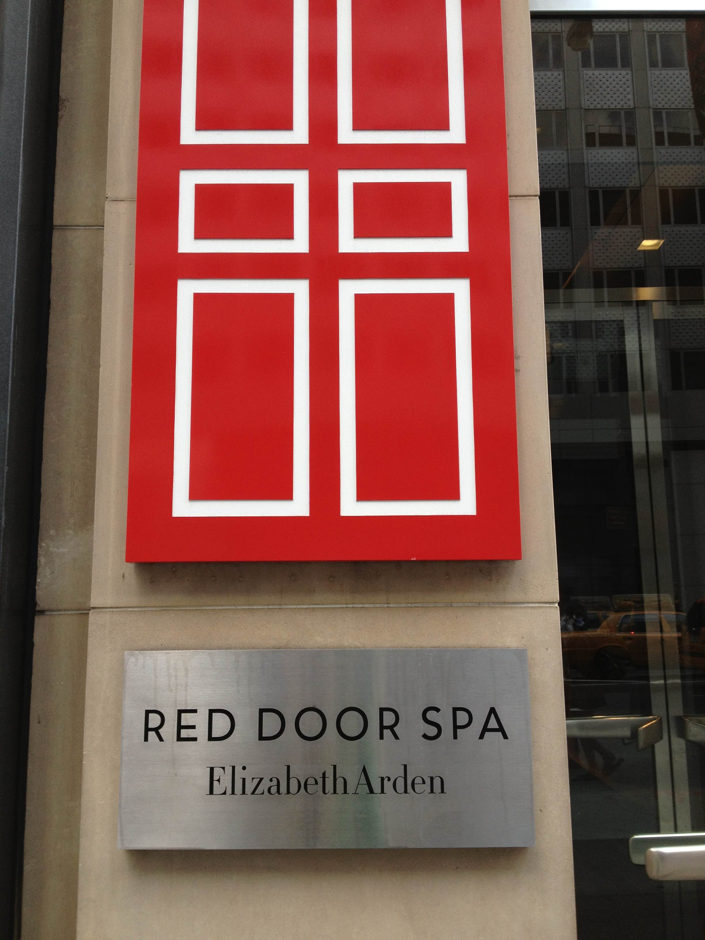 elizabeth arden red door spa entrance