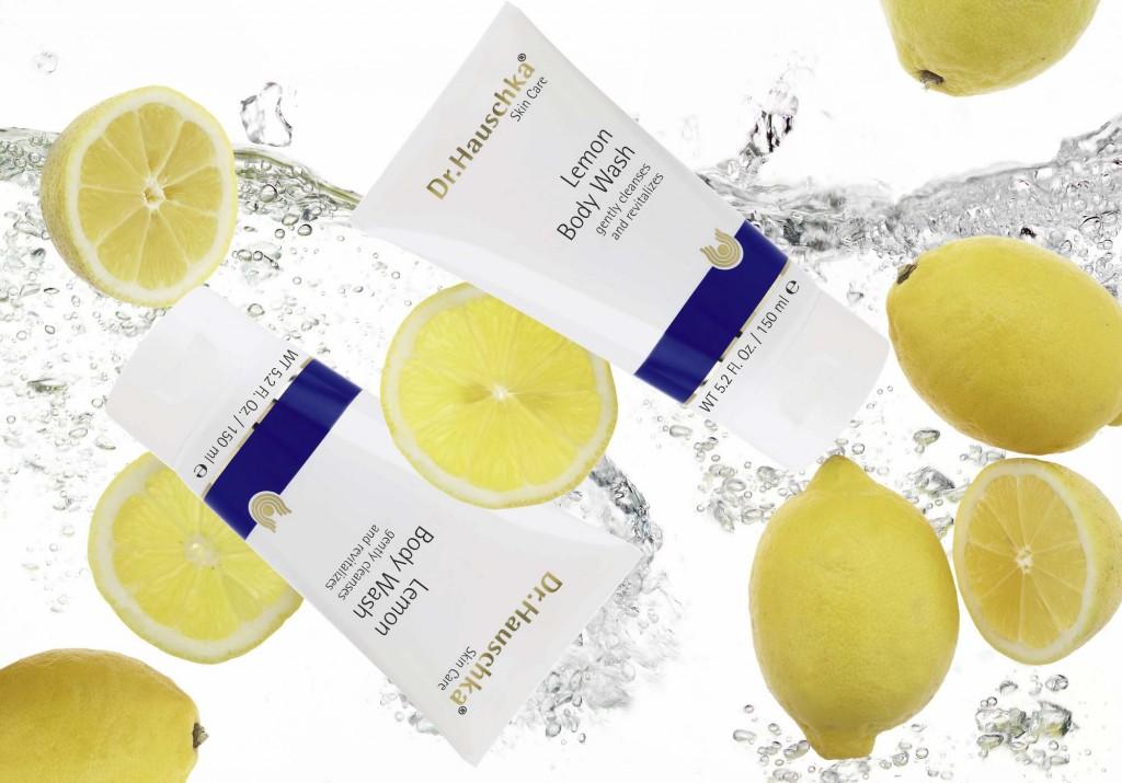 Dr.Hauschka Pressefoto Citronen Duschcreme USA