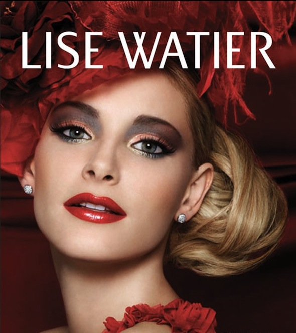 Lise Watier Winter 2012 Glamour Rose Collection