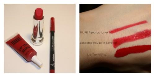 Red Lipsticks With Slight Blue Undertones