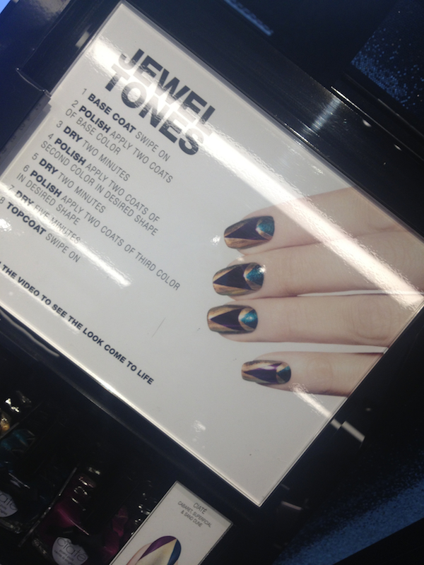 How cool are these iPad tutorials at Sephora Times Square?