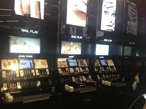 Nail Play Stations at Sephora Times Square