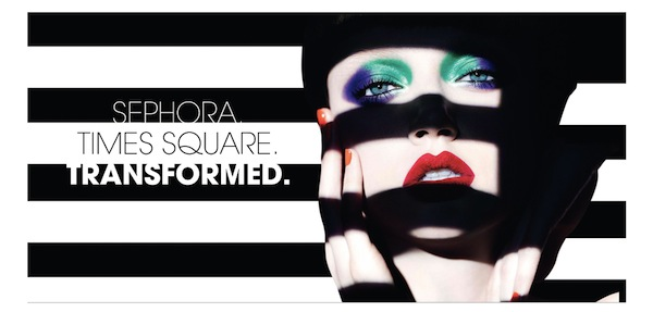 Sephora Times Square Transformed