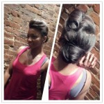 ThisThaTBeauty Christene Carr How to do a Pompadour
