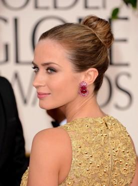 Emily Blunt 2013 Golden Globes