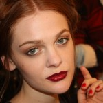 Alice and Olivia Fall 2013 makeup