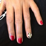 Janelle Monae's Grammy 2013 Nails
