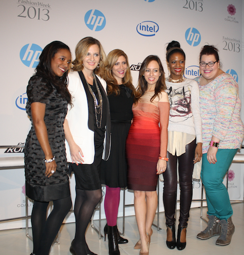 HP Project Runway Fashion & Technology Panel