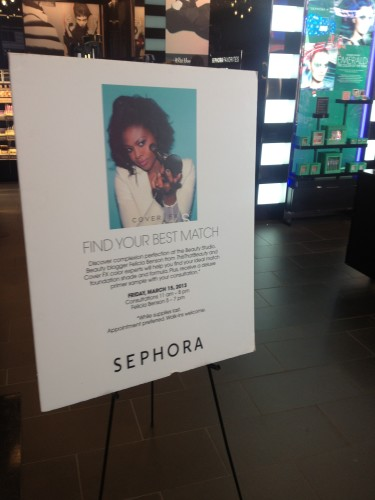 ThisThatBeauty with CoverFX at Sephora