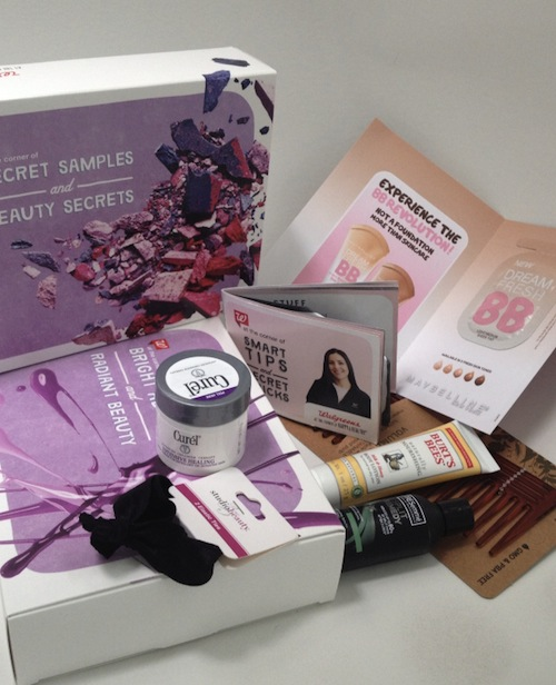 Walgreens Sample Box