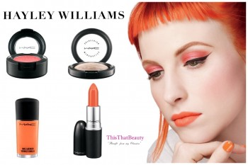 Hayley Williams Mac Cosmetics