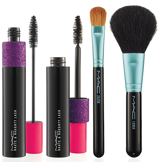 MAC BAking Beauties Collection Mascara and Brushes