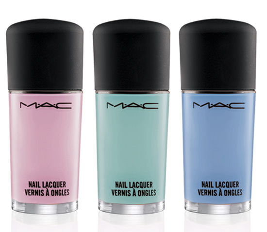 MAC Baking Beauties Collection Nail Lacquer