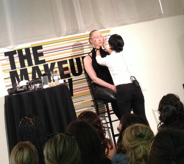 NARS pro artist demo at The Makeup Show