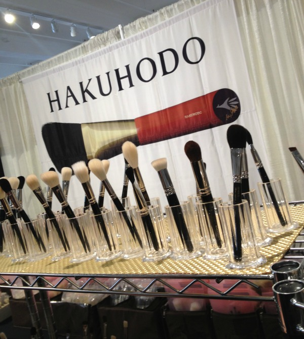 Hakuhodo booth at The Makeup Show