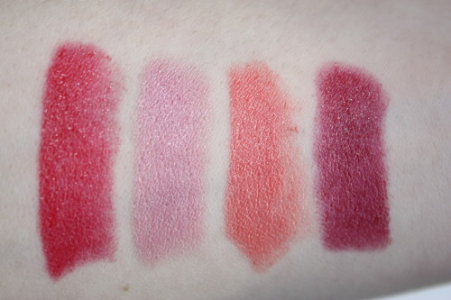 Mineralize Rich Lipstick Swatches