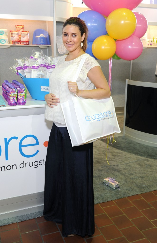 Jamie Lynn Sigler Stopped By The Drugstore.com Booth at the New York Baby Show
