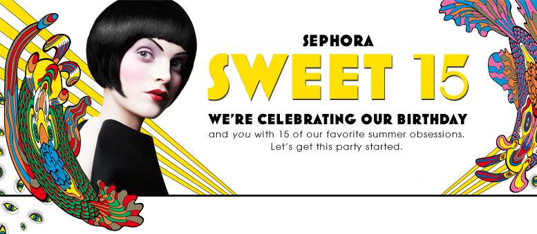 Sephora Sweet 15