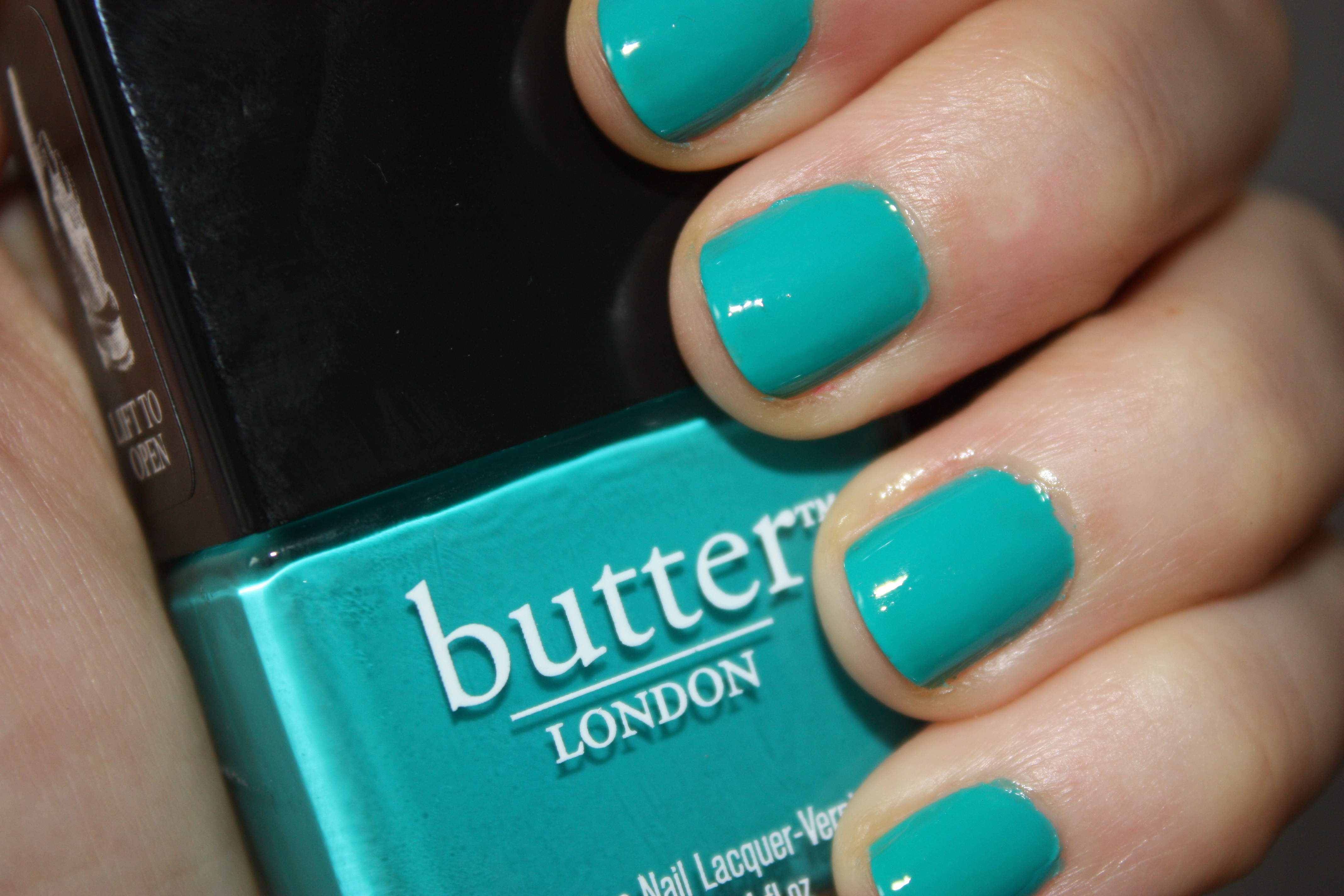 Mani of the week: Butter London's Slapper - ThisThatBeauty