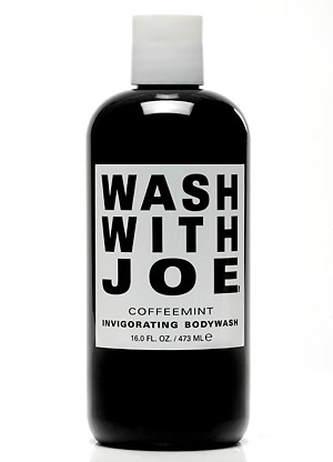 Wash With Joe Coffee Mint Shower Gel