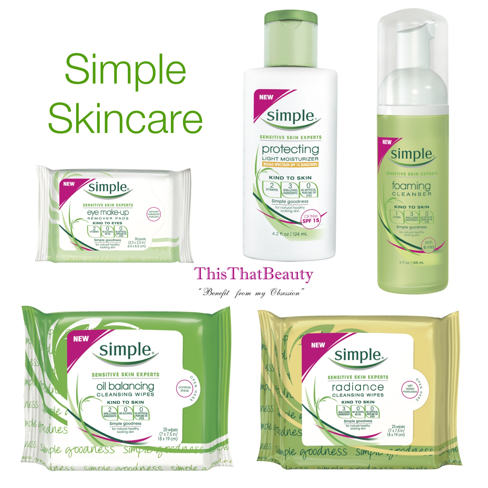 Simple Products thisthatbeauty reviews simple skincare