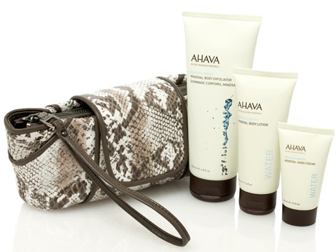 Kooba for AHAVA Body Care Set