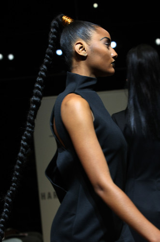 Deidre Jefferies - Harlem's Fashion Row SS14 - Hair 1
