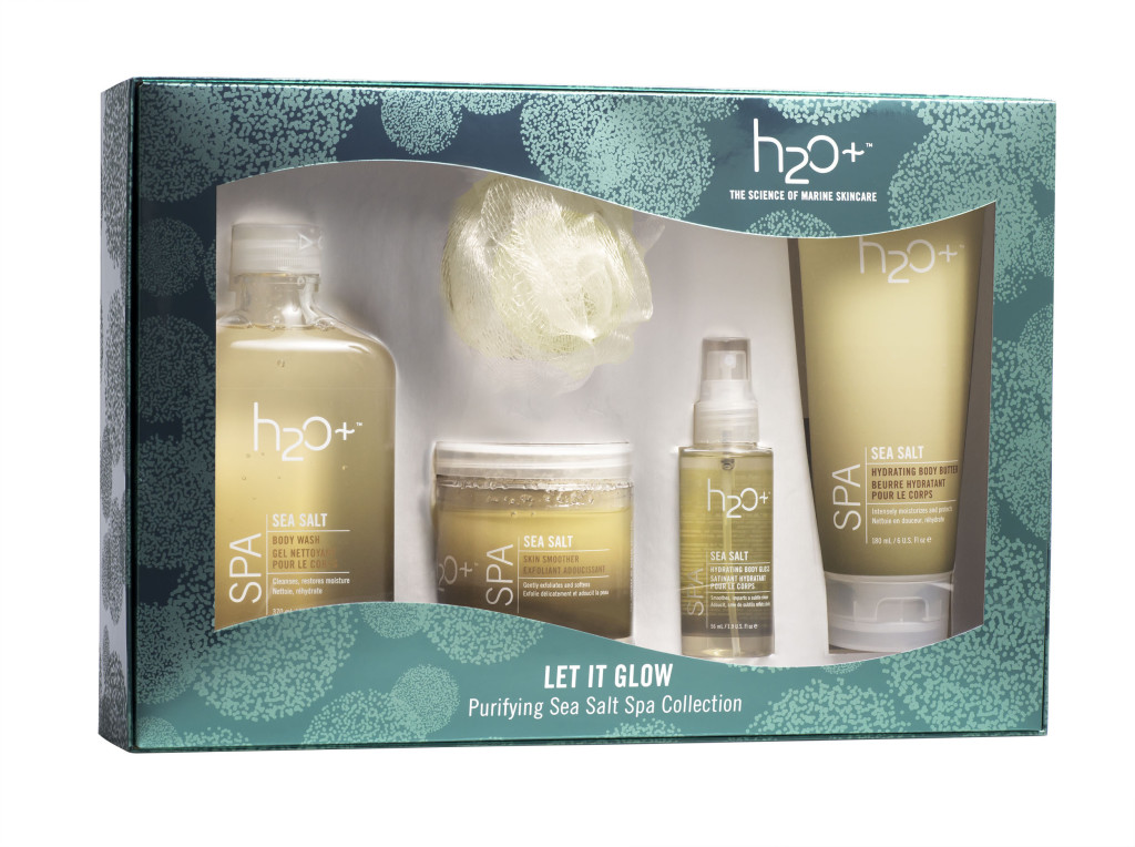 H2O Plus Let It Glow Purifying Sea Salt Spa Collection