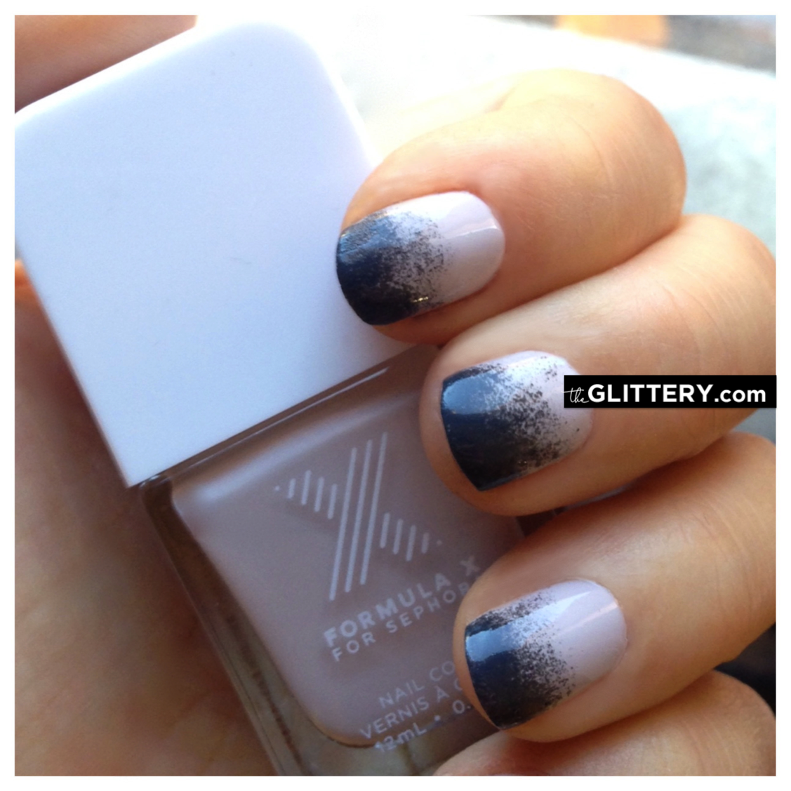 Mani of the Week: Spray Paint Ombrè