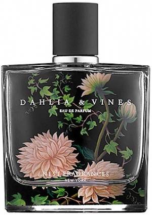 Dahlia and Vines