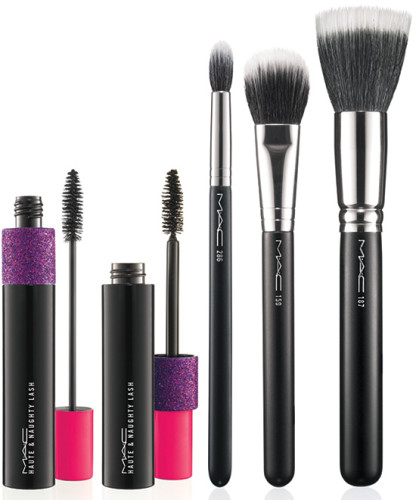 MAC fantasy of flowers mascara and brushes