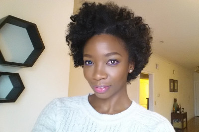 Bantu Knot Out Using Optimum Amla Legend Blow Dry Mousse