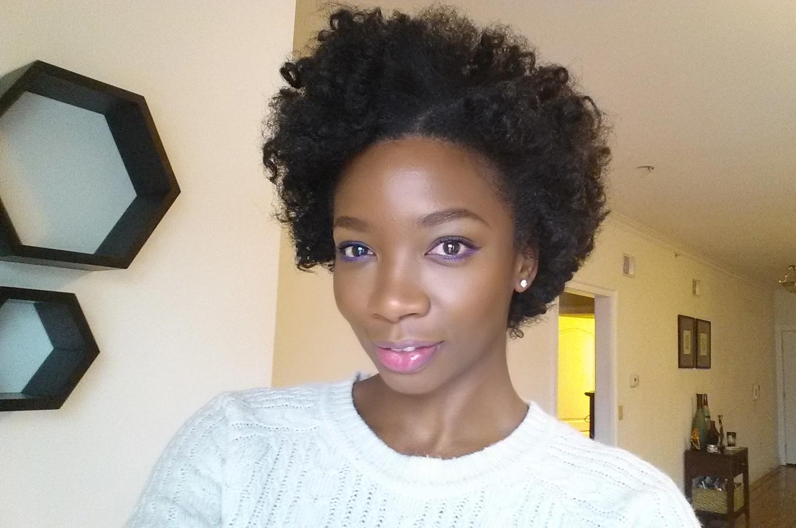 Bantu Knot Out Using Optimum Amla Legend Blow Dry Mousse