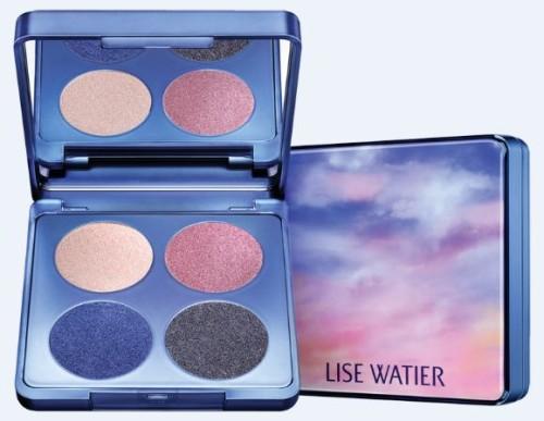 Lise Watier spring eyeshadow quad