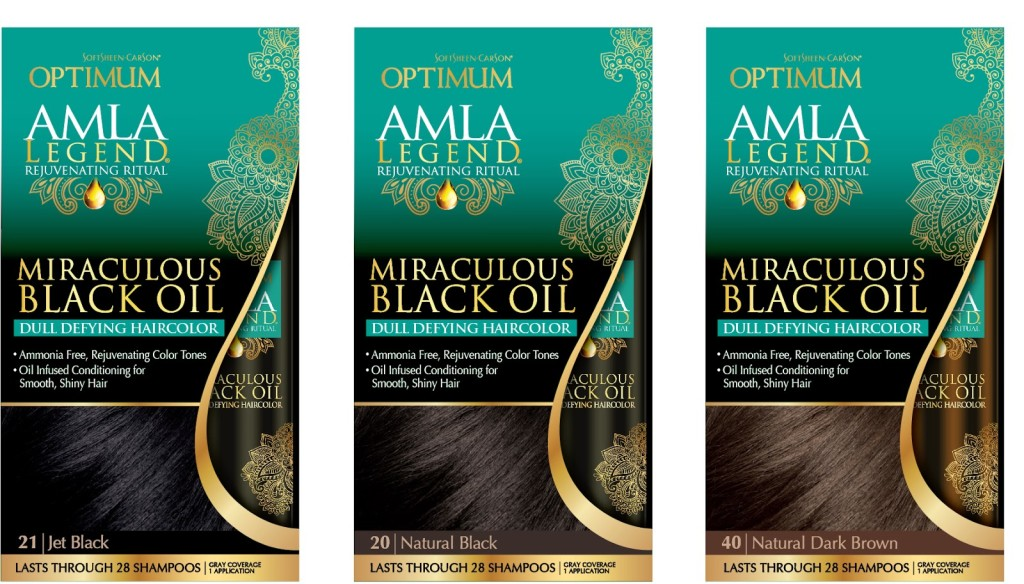 Optimum Amla Legend Miraculous Black Oil Dull Defying Haircolor