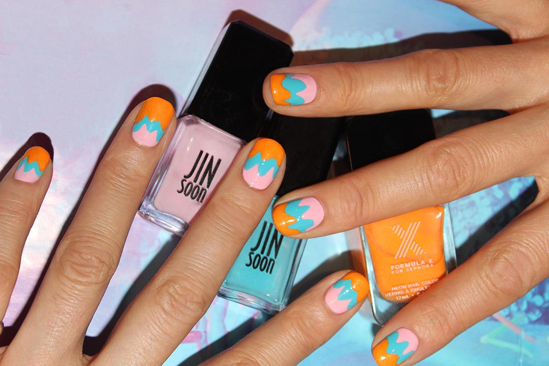 Mani of the Week: Pastel and Neon Nail Art from Jin Soon Choi