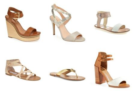 6 nude sandals under $200