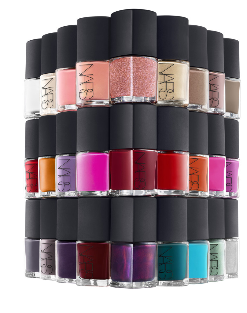 NARS Nail Polish Stylized Group Shot