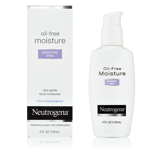 Neutrogena Oil Free Moisture for Sensitive Skin