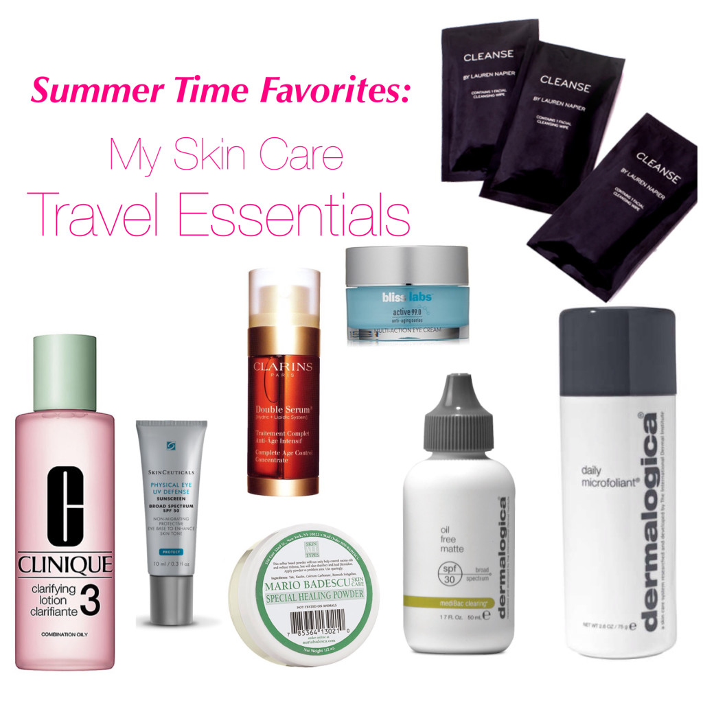 Skin Care Travel Essentials