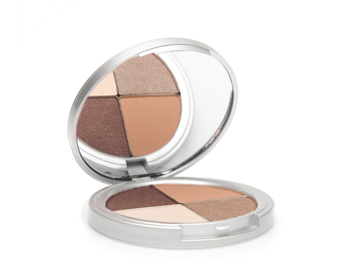 votre vu eyeshadow quad in nude