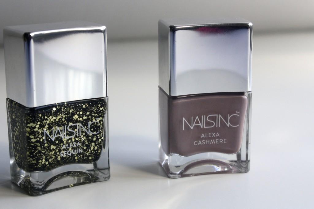 Nails Inc and Alexa Chung