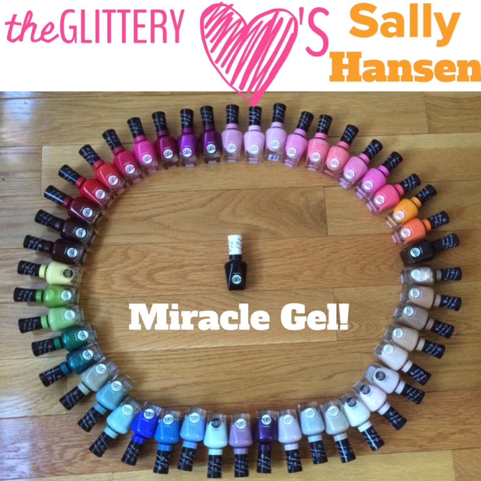 Mani of the Week: Sally Hansen Miracle Gel Nail Art Tutorial ...