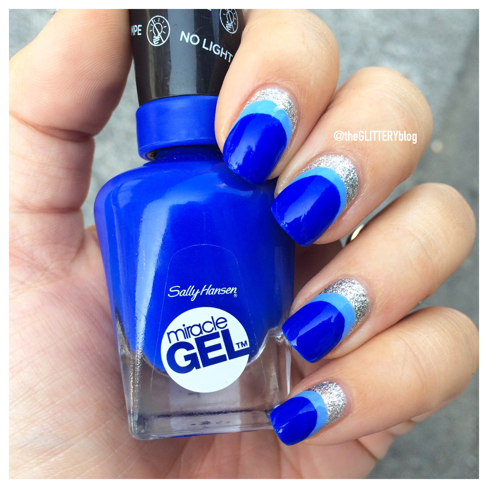 Mani Of The Week Sally Hansen Miracle Gel Nail Art Tutorial