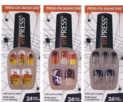 Mani of the Week - Halloween Nails from Broadway Nails and Kiss ...