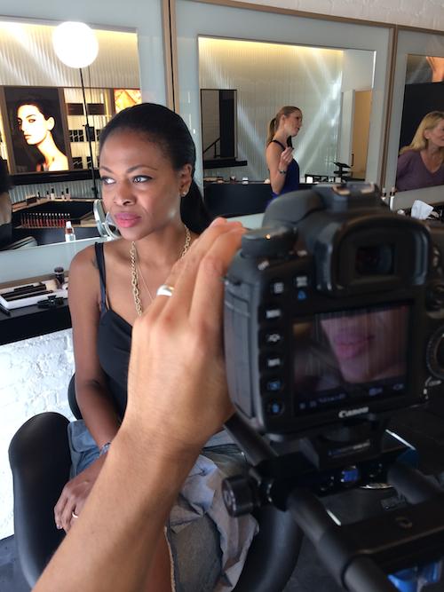 #TTBToursLA – Recreating the Oscar De la Renta Spring 2015 Look with Hourglass Cosmetics