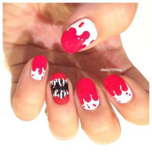 Mani of the Week: Halloween Manicure Tutorial