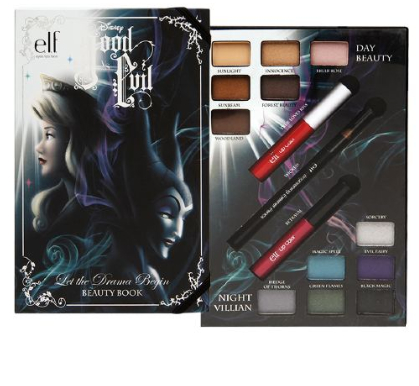 ELF Disney Villains Good vs Evil Let the Drama Beauty Book