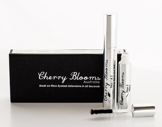 Best Mascara - Cherry Blooms Brush on Fibre Eyelash Extensions